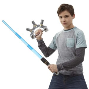 Star War Blueblades Jedi Master Lightsaber